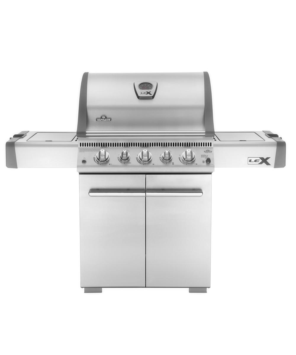 LEX485 gázüzemű grillsütő